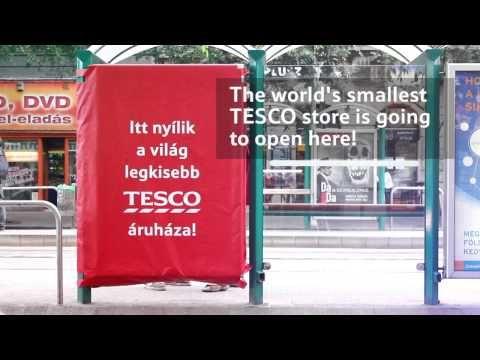 The World's smallest Tesco – Citylight - YouTube