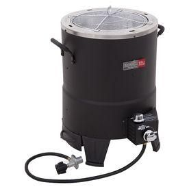 Get creative with outdoor cooking. Check out the phenominal reviews for the Char-Broil Big Easy 24-in 20-lb Cylinder Oil-less Infrared Turkey Fryer.