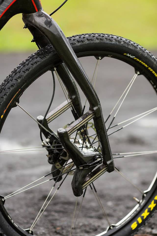 Lauf Trail Racer 29er carbon fiber leaf spring mountain bike suspension fork