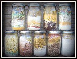Emergency Meals in Jars