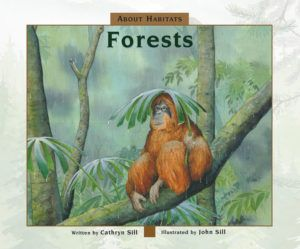 (Peachtree) John Sill's detailed, full-color illustrations show the characteristics of different types of forests – from the cold boreal forests of the northern hemisphere to the warm tropical forests near the equator.