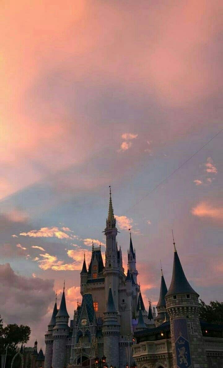 Harry Potter Sky Aesthetic Disney Phone Backgrounds Sunset Wallpaper