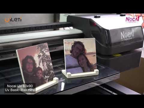 Doğal taş magnet üzerine uv baskı / Nocai uv led digital printer – YouTube