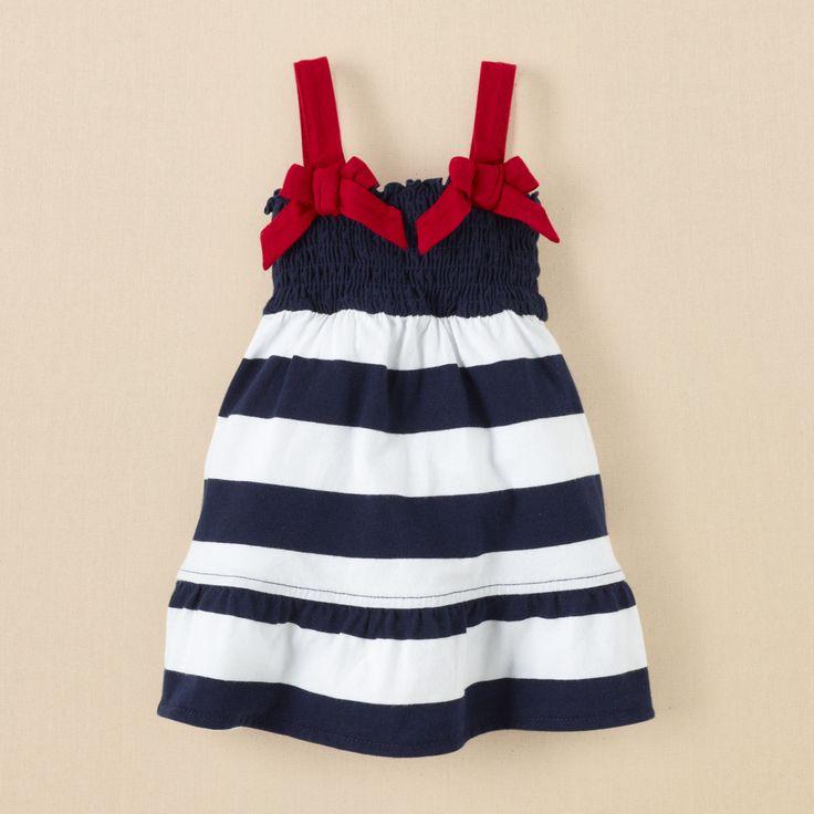 newborn - girls - Americana dress | Children's Clothing | Kids Clothes | The Children's Place