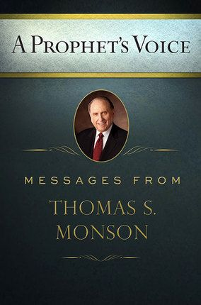 A Prophet's Voice~~ This book will touch your heart!    Full of past talks and thoughts from President Thomas S. Monson...    It reveals President Monson's feelings about forgiving others, forgiving oneself, and drawing closer to the Savior through service.    Reading this book is like watching Conference where President Monson is the only speaker.    Powerful insight as the Spirit permeates its pages.