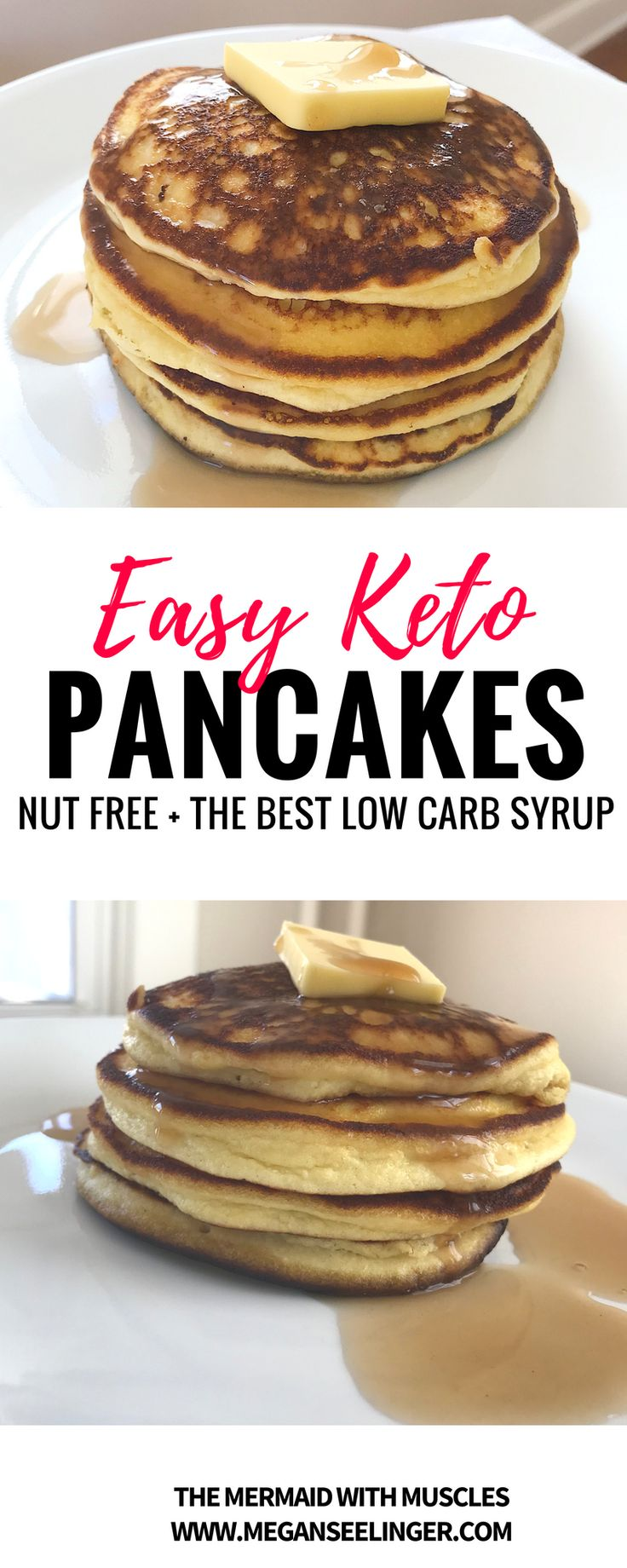 The Best Keto Pancakes Recipe With Coconut FlourThe Mermaid With Muscles// Workout Plans, Motivation, Keto Recipes