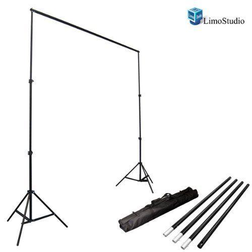 LimoStudio Photo Video Studio 10Ft Adjustable Muslin Background Backdrop Support System Stand, AGG1112 LimoStudio