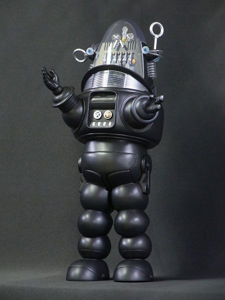 Robby the Robot miniature, my Dad bought me one, he loves the fact that he has a daughter that loves these collectables.