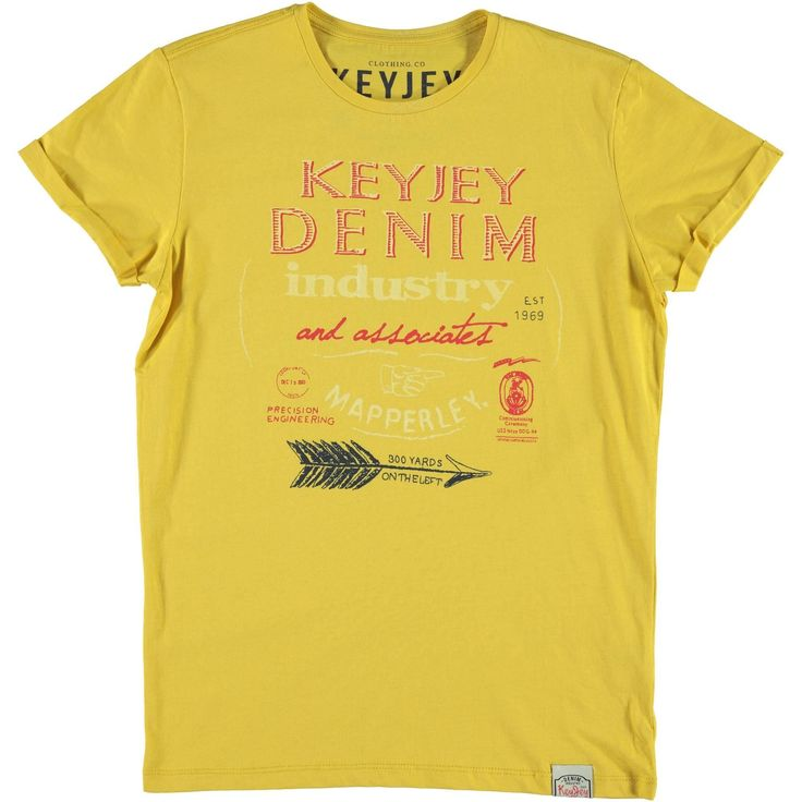T-shirt stampa freccia Key Jey. disponibile in 2 varianti colore - € 14,90 | Nico.it - #nicoit #nicoabbigliamentoecalzature #newarrivals #newcollection #summerspring #ss15 #summer #spring #outfitoftheday #ootd #bestoftheday #lookoftheday #lotd #cute #love #fashionista