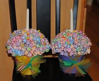 dumdum  lollipop cupcake