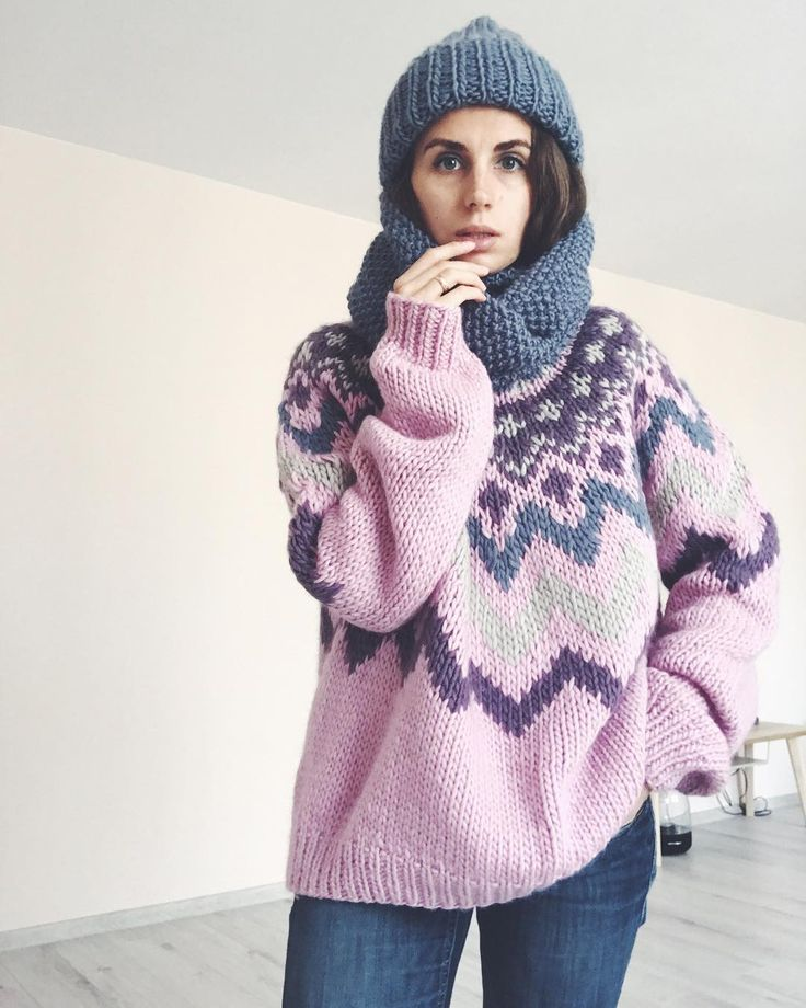 "383 Likes, 8 Comments - Wool & Mania (@woolandmania) on Instagram: ""Это мания -#WoolandMania Новые наборы для вязания #шапкаHusky #свитерGossamer #снудTube на…"""