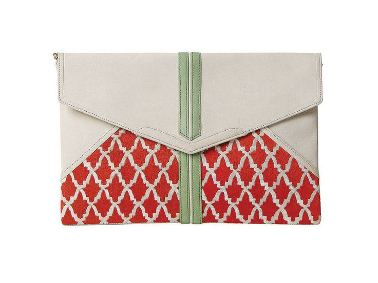 Popinjay Anfa Envelope Clutch Yes, they took our breath away too!!! Popinjay handbags from Pakistan coming to Canada via unikati & co!!!!!! we <3 Popinjay!