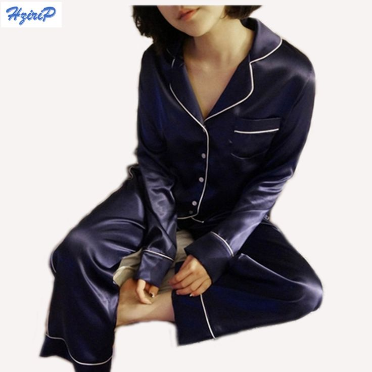 Hrizip無地2シャツ+パンツスーツ女性2016秋パジャマセット部屋着パジャマパジャマネグリジェ女性の睡眠