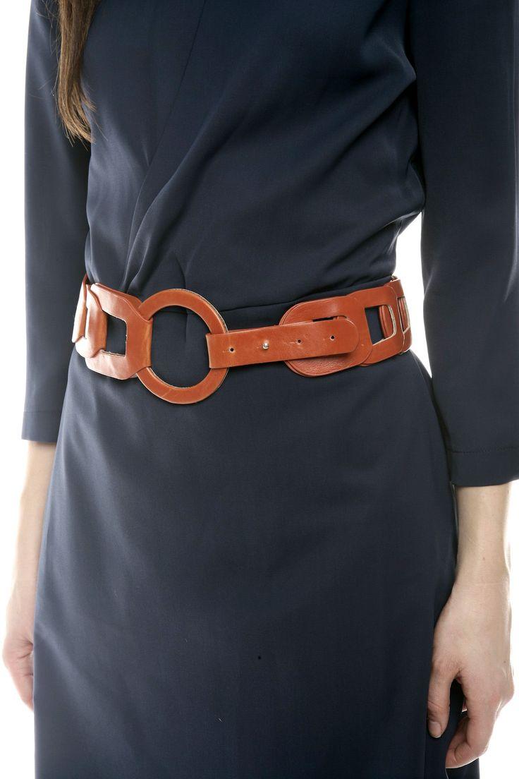 Cute Interlocking Oval Belt