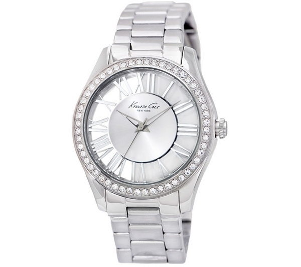 Kenneth Cole Ikc4851 Lady Watch Quartz Silver