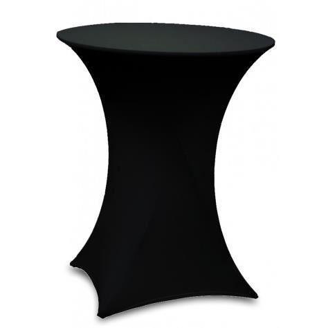 Table haute bar pliante + housse noir - MonCornerDECO