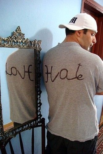 What an awesome t-shirt.: Tattoo Ideas, Mirror Mirror, Points Of View, Quote, Mirrormirror, A Tattoo, T Shirts, Mirror Images, Loveh