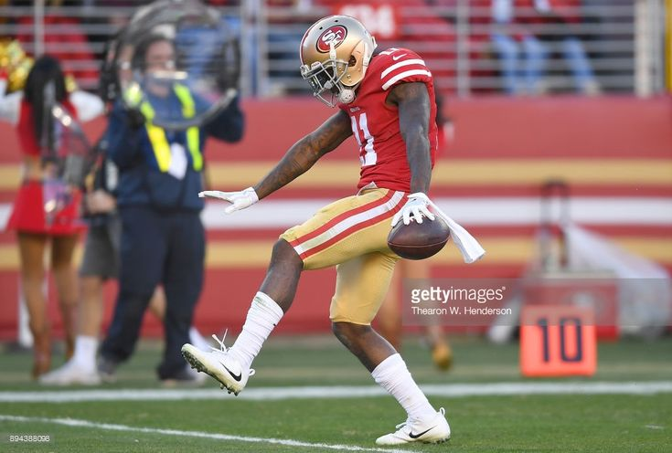 News Photo : Marquise Goodwin of the San Francisco 49ers...