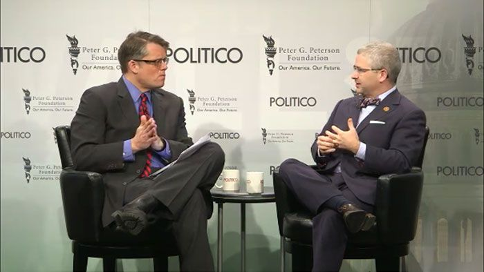 Politico's Ben White speaks with Rep. Patrick McHenry (R-NC). http://pgpf.org/breakfastbriefing/patrick-mchenry