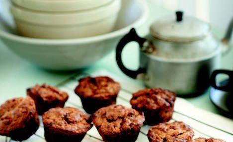 Banana and Chocolate Chunk Muffins