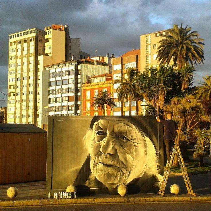 Quelle place laissons-nous à nos aînés dans nos villes ? / Street Art. / BY XAV.