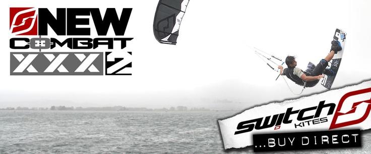 Switch Kites Combat2  #Combat #Combat2 #Kitesurfing #Kiteboarding #kites #marcjacobs