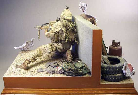 Marines afghanistan 1 6 scale model figures military for Scale model ideas
