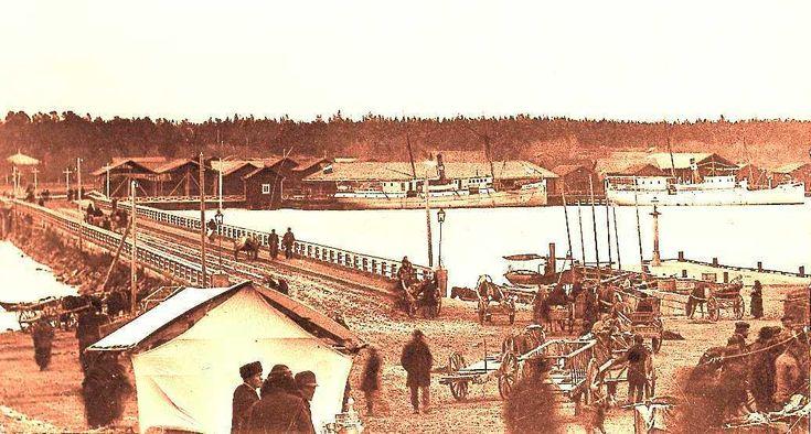 Kristinestad foto ca 1895