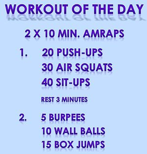 katifitchick♡   Workout of the Day   CrossFit WOD