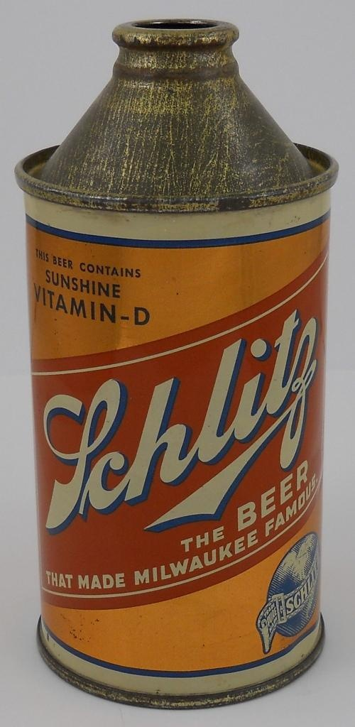 Cone top Schlitz with vitamin D!