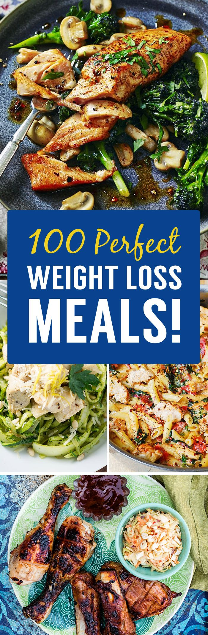 Having delicious, healthy, calorie conscious weight loss meals that you actually enjoy eating can make sticking to your diet a breeze. Consistency with your diet, is the key to losing body fat, getting in shape and looking and feeling better than you ever have before! So we have collected 100 (yes 100!) amazing weight loss …