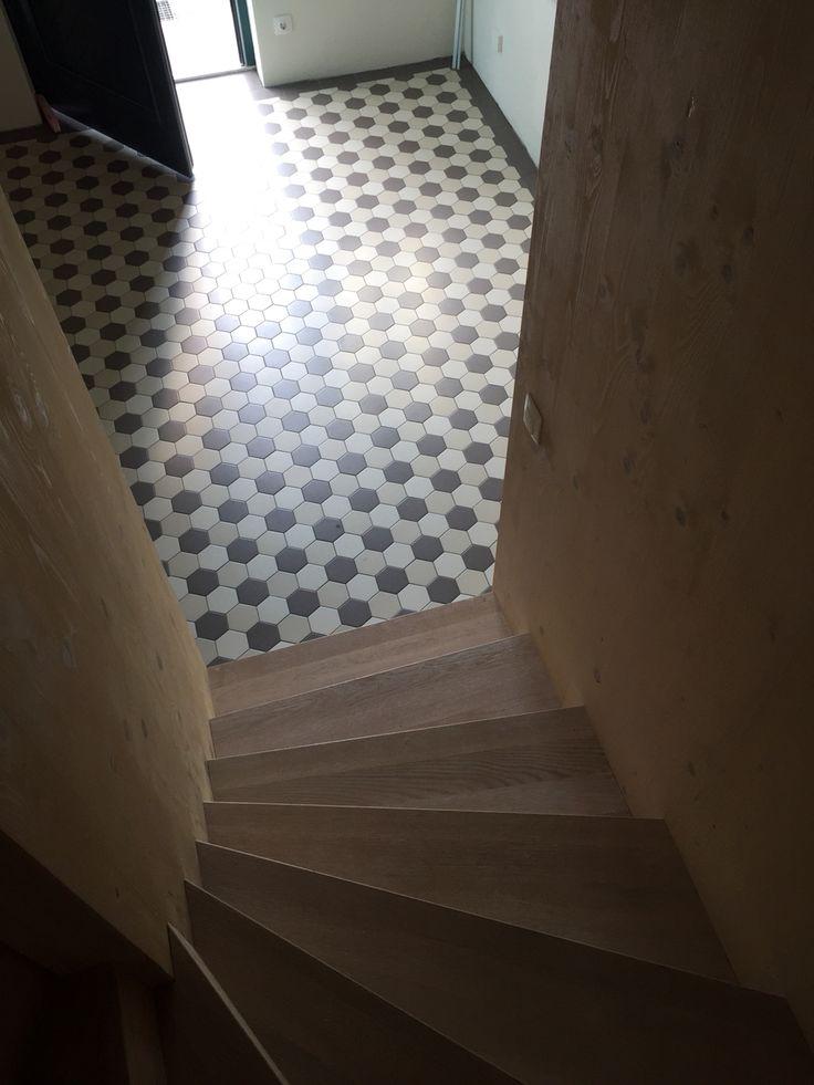 Hexagonal Zahna Tiles Austrian Wine Cellar