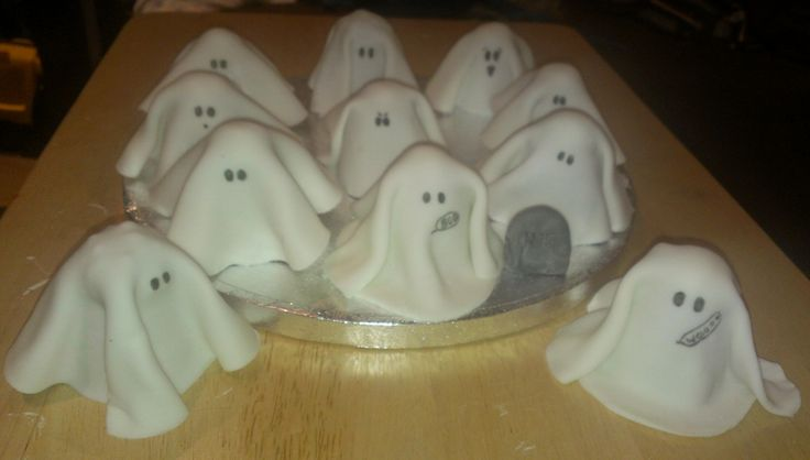 Halloween Ghost Walnut Whips