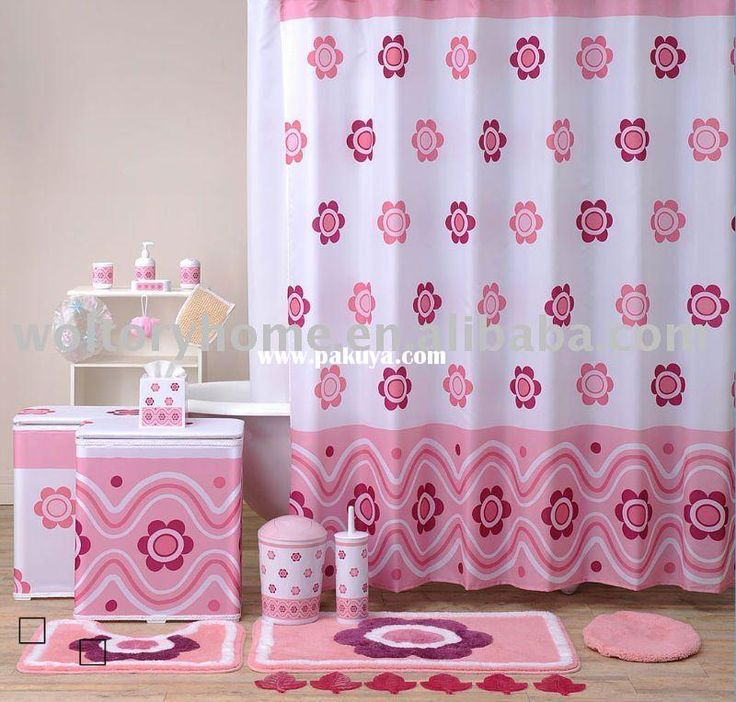 Bathroom accessories in pink Bathroom accessories in pink : Shower curtains are usually the main accent piece for bathrooms, the first thing you notice upon entering the room. If you. Renovating an old bathroom or designing a new, it is amazing what a shower curtain in the exact color can do for the atmosphere See dealer ... #HotPinkBathroomAccessories, #PinkBathAccessories, #PinkBathroomDecor, #PinkBathroomIdeas, #PinkBathroomSets