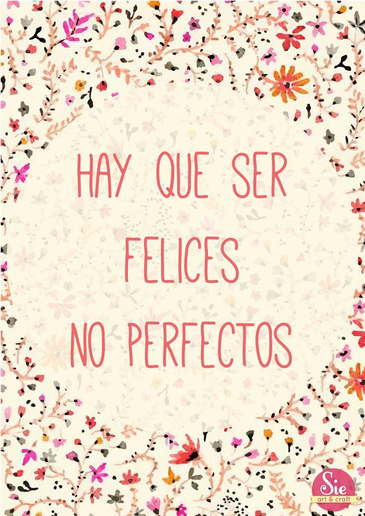 Ser felices ♥