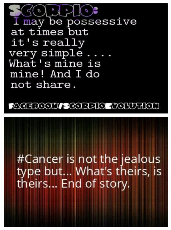 scorpio and cancer relationship horoscope