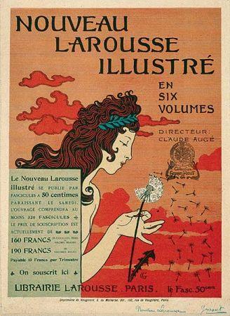 Association marque / visuel  ¤ Eugène Grasset (1845-1917) - Larousse, Eugène Grasset, 1890 Les Arts Décoratifs - Site officiel