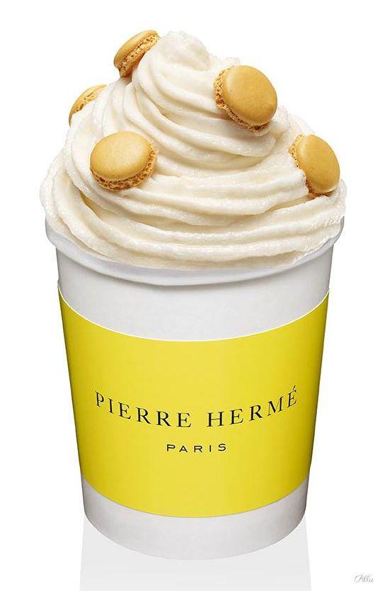 PIERRE HERMÉ la Glace au Macaron  #packaging #macaron #gourmandise