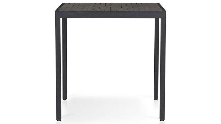 Alfresco Grey High Dining Table