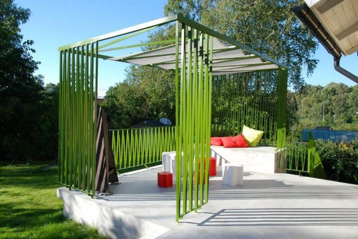modern pergola pergolas arbors pinterest. Black Bedroom Furniture Sets. Home Design Ideas