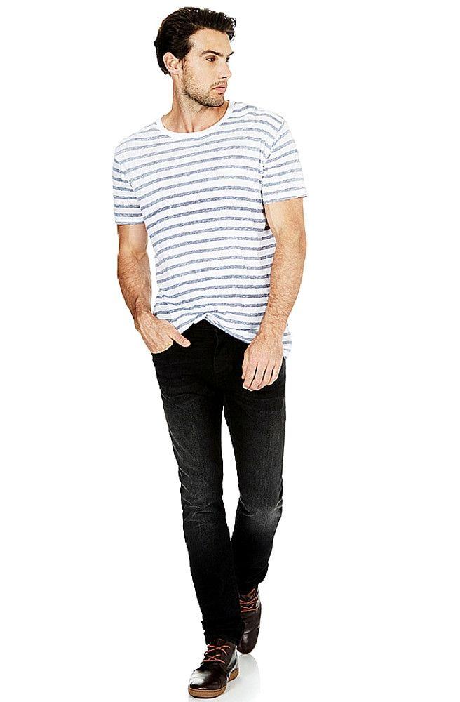 Mavi - Yves - Coal Black Edge Jeans