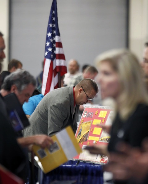 Hiring Our Heroes Job Fair- Gives the chance for veterans to talk to potential employers