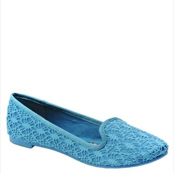 Morrison Gabriella Fabric loafer flats in peacock by Rocket Dog