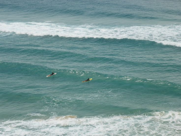 The blue-green waters of Kirra are almost hypnotic. Where else would you rather surf than on Australia's wonderful Gold Coast?