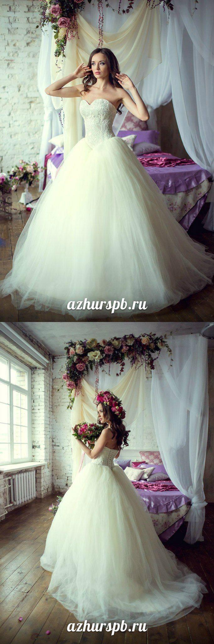 wedding dress pink flowers bride wreath ballgown lace