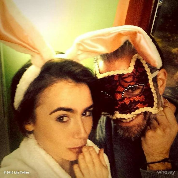 ©Lily Collins 201...