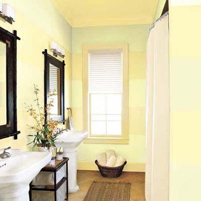 91 best images about yellow bathrooms on pinterest for Small bathroom yellow