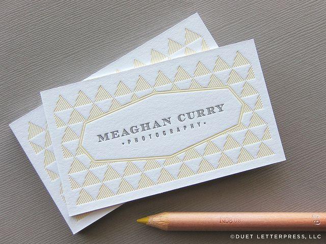 113 best Letterpress images on Pinterest Births, Business cards - letterpress business card