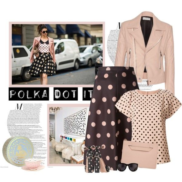polka dot it by bodangela on Polyvore featuring moda, RED Valentino, Balenciaga, Karen Millen, The Row, Wedgwood, Therapy and Cyrus
