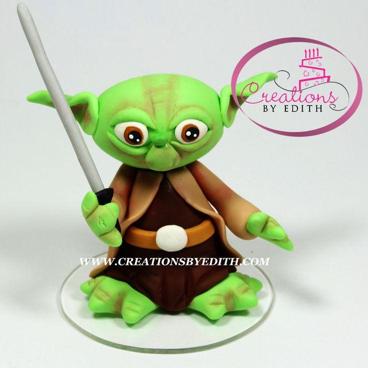 Yoda, inspirado en Star Wars, video curso paso a paso en porcelana fria